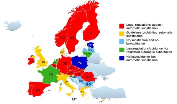 La normativa sulla sostituibilità dei biosimilari in Europa